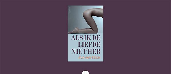 Website Eva van Esch by See Design