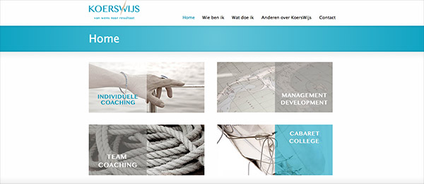 Website KoersWijs by See Design
